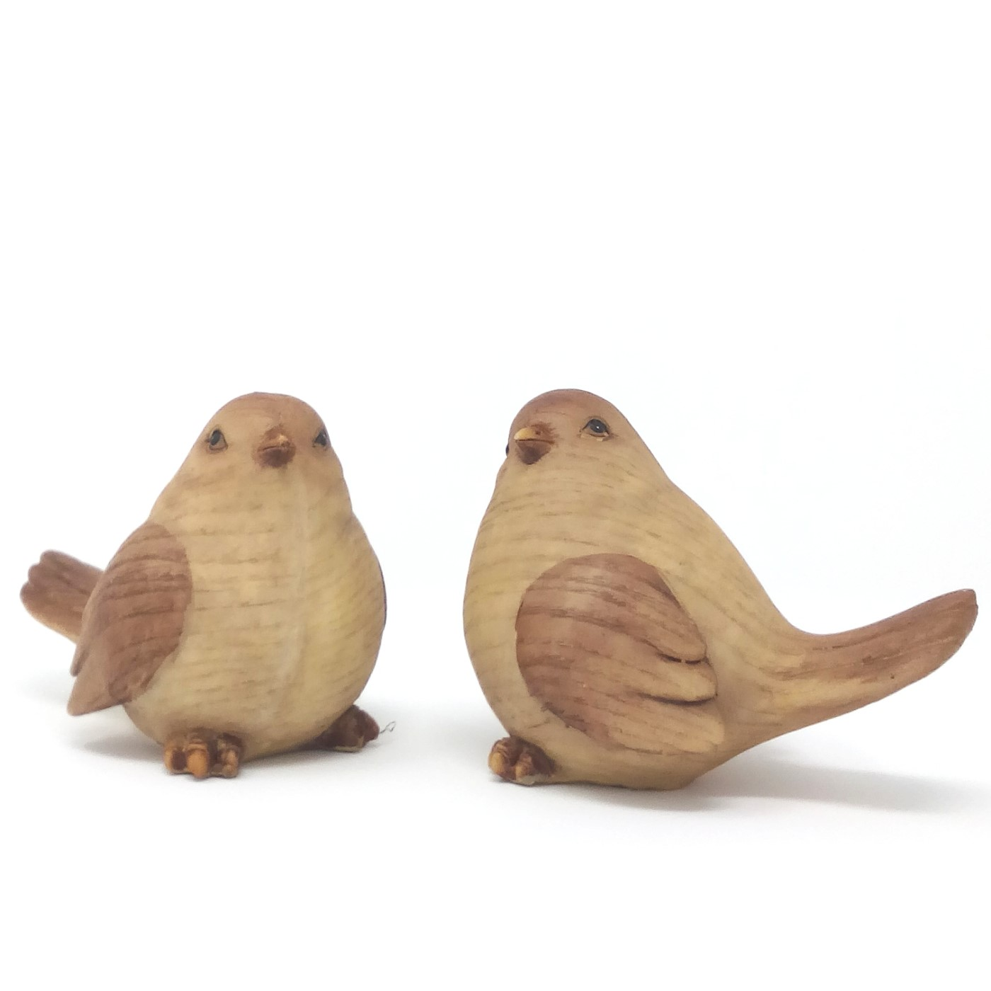 Vogel Holz wetterfeste grab vogelfiguren 2 modelle grabschmuck